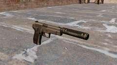 Pistola SIG Sauer P226 com silenciador