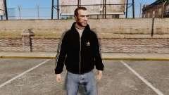 Olimpijka-preto Adidas Originals- para GTA 4