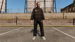 Puma vestuário para GTA 4