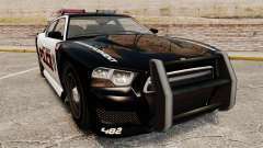GTA V Bravado Buffalo Supercharged LCPD para GTA 4