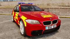 BMW M5 West Midlands Fire Service [ELS]