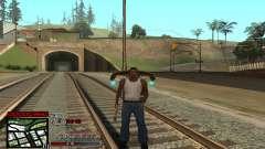 C-HUD Getto Jonka para GTA San Andreas