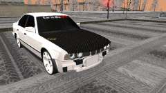 BMW 535i preto para GTA San Andreas