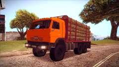 Transportador de madeira 54115 KAMAZ