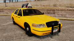 Ford Crown Victoria 1999 NY Old Taxi Design