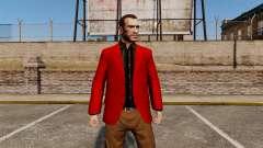 Jaqueta vermelha para GTA 4