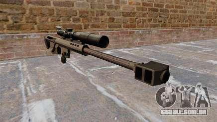 Barrett M95 rifle de sniper para GTA 4