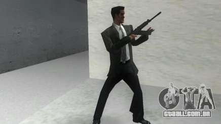 Canhão espingarda Saiga 12 k para GTA Vice City
