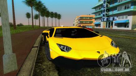 Lamborghini Aventador LP720-4 50th Anniversario para GTA Vice City