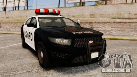 GTA V Vapid Police Interceptor LSPD para GTA 4