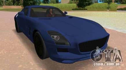 Mercedes-Benz SLS AMG V12 para GTA Vice City