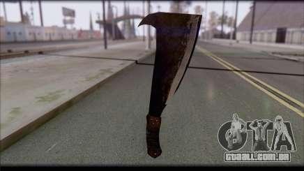 Facão para GTA San Andreas