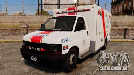 Brute B.C. Ambulance Service [ELS] para GTA 4