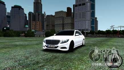 Mercedes-Benz S-Class W222 2014 para GTA 4