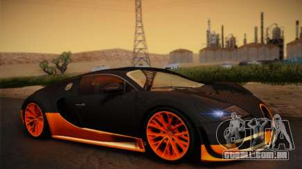 Bugatti Veyron Super Sport World Record Edition para GTA San Andreas