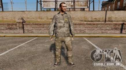 Roupa de camuflagem urbana para GTA 4
