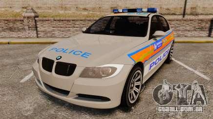 BMW 330 Metropolitan Police [ELS] para GTA 4
