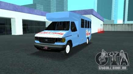Ford Shuttle Bus para GTA San Andreas