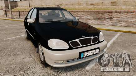 Daewoo Lanos Style 2001 Limited version para GTA 4
