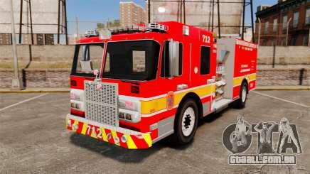 Crimson Spartan Gladiator Firetruck [ELS] para GTA 4