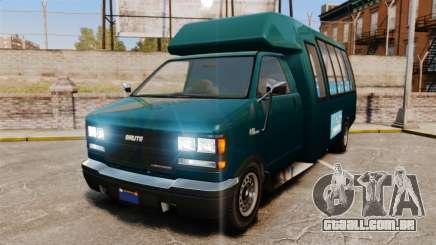 GTA V Brute Tour Bus para GTA 4