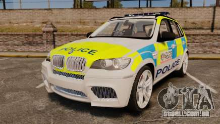 BMW X5 City Of London Police [ELS] para GTA 4