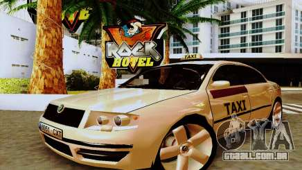 Skoda Superb 2.2 Spanish TAXI para GTA San Andreas