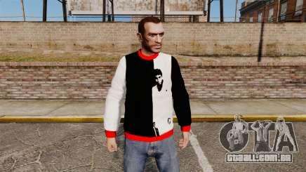 Camisola-Scarface - para GTA 4
