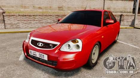 VAZ-2170 Dubai para GTA 4