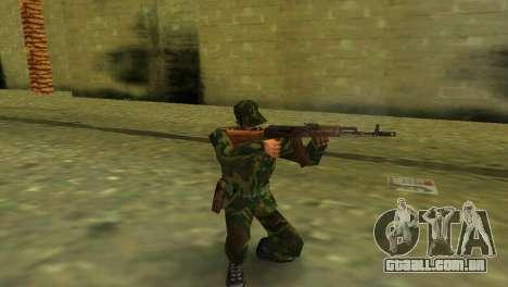 A forma da forças armadas de RF para GTA Vice City segunda tela