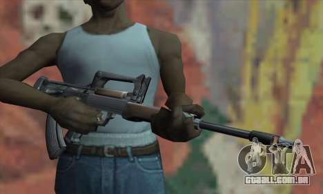 Rifle para GTA San Andreas terceira tela