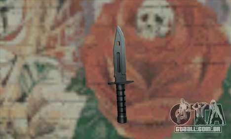 M9 Knife para GTA San Andreas segunda tela