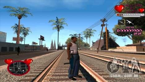 C-HUD Ministry Of Health para GTA San Andreas terceira tela