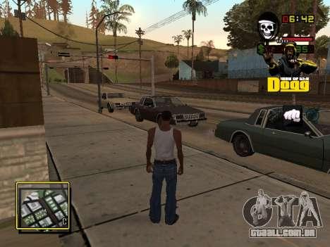 C-HUD Snoop Dogg para GTA San Andreas
