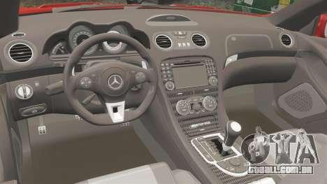 Mercedes-Benz SL65 AMG para GTA 4 vista lateral