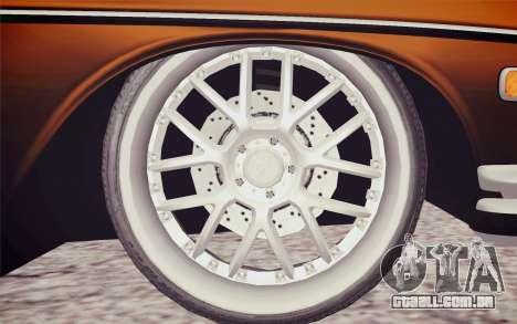 Mercedes-Benz 300 SEL para GTA San Andreas traseira esquerda vista