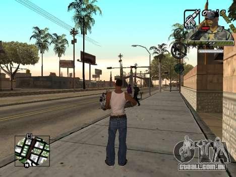 C-Hud Army by Enrique Rueda para GTA San Andreas terceira tela