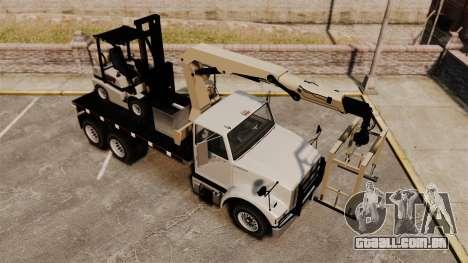 Benson Heavy para GTA 4 vista superior