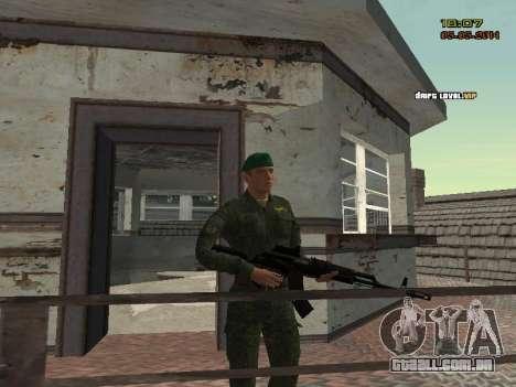 O exército russo moderno para GTA San Andreas twelth tela