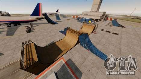 Truque-o estacionamento no aeroporto para GTA 4