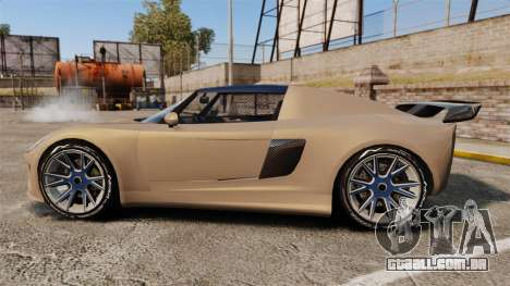 GTA V Coil Voltic para GTA 4 esquerda vista