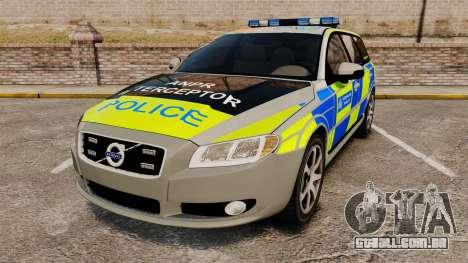 Volvo V70 ANPR Interceptor [ELS] para GTA 4