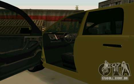 GTA V Bison Version 2 FIXED para GTA San Andreas vista interior