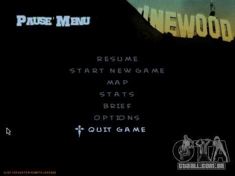 C-HUD by Powwer para GTA San Andreas por diante tela