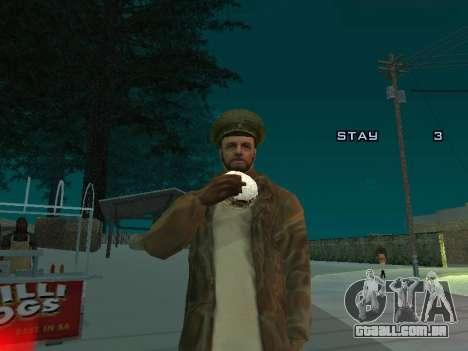 Mochila 2.0 para GTA San Andreas quinto tela