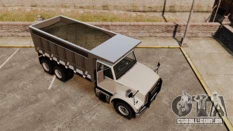 Benson Heavy para GTA 4 vista lateral