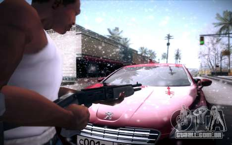 Spas 12 para GTA San Andreas quinto tela