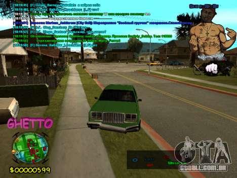 C-HUD 2pac para GTA San Andreas segunda tela