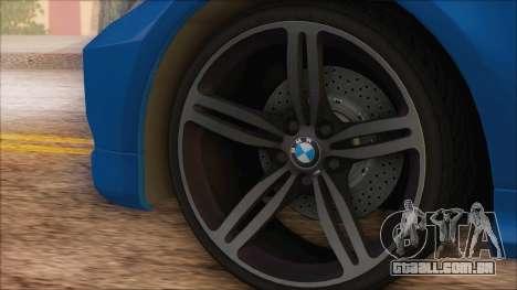 BMW 330i para GTA San Andreas vista direita