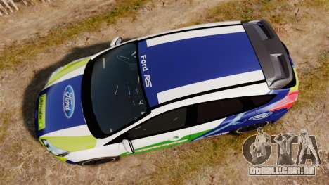 Ford Focus ST Rally para GTA 4 vista direita